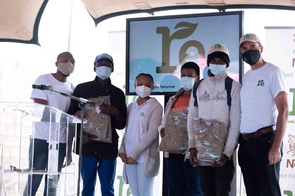 Nestlé RE-Imagine project helps informal waste reclaimers