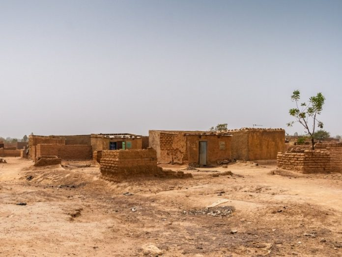 Ouagadougou slum Burkina Faso