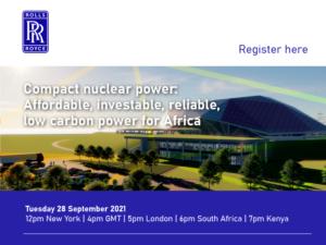网络研讨会记录:紧凑型核能:非洲负担得起的、可投资的、可靠的、低碳的电力