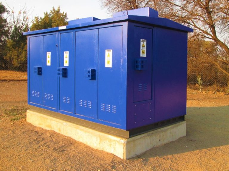 Dry-type transformers for security at mini-substations