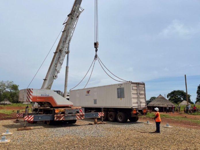 energy access remote power unit